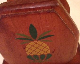 Vintage Pineapple Napkin holder