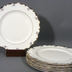 and Co Bone China Dinner Plates J.M /& Co Devon SaladSide Plates VintageAntique Imari Pattern J.M