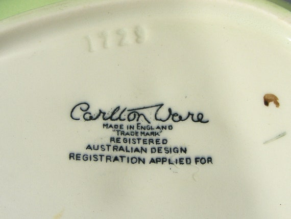 9 Carlton Ware Vintage Ivory Bone China Leaf Serving Dish England