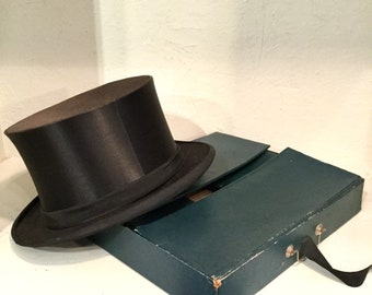 a48c88d10fc Collapsible Silk Top Hat