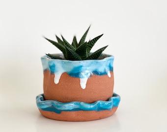 Small Planter, Terracotta Pot, Planter Drainage, Small Pot, Cactus Pot, Succulent Pot, Terracotta Round Pot, Terracotta Pot Usa