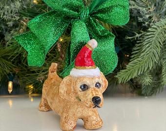 Handmade Dachshund Ornament, Short Haired Dachshund Ornament, Dog Christmas Decoration, Dachshund Lover Gift, Dog Lover Gift