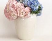 Porcelain Vase Handmade Wheel Thrown