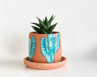 Small Terracotta Planter, Terracotta Pot, Planter Drainage, Southwest Decor, Southwest Style, Terracotta Plant Pot, Indoor Pot, Planters