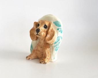 Handmade Dog Paperweight, Dog Desk Accessory, Dog Lover Gift, Cocker Spaniel Lover, Cocker Spaniel Gift, Dog Lover Present, Dog Art Desk