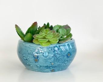 Heart Shape Pot, Heart Shape Planters, Blue Heart Pot, Blue Pot, Blue Planter Pot, Blue Heart Planter, Succulent Pot, Blue Flower Pot