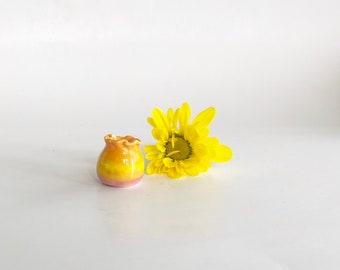 Dollhouse Miniature Vase, Miniature Doll Pottery, Dollhouse Decor, Dollhouse Pottery, Doll Kitchen Accessories, Miniature Vase