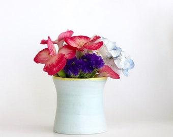 Light Blue Porcelain Bud Vase, Mini Bud Vase, Mini Porcelain Bud Vase, Mini Vase, Small Flower Vase, Miniature Vase, Mini Ceramic Bud Vase