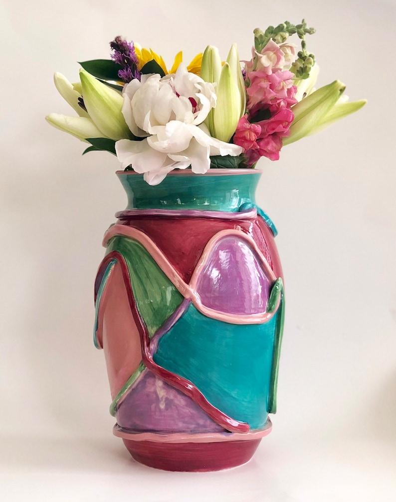 Etsy & Large Flower Vase