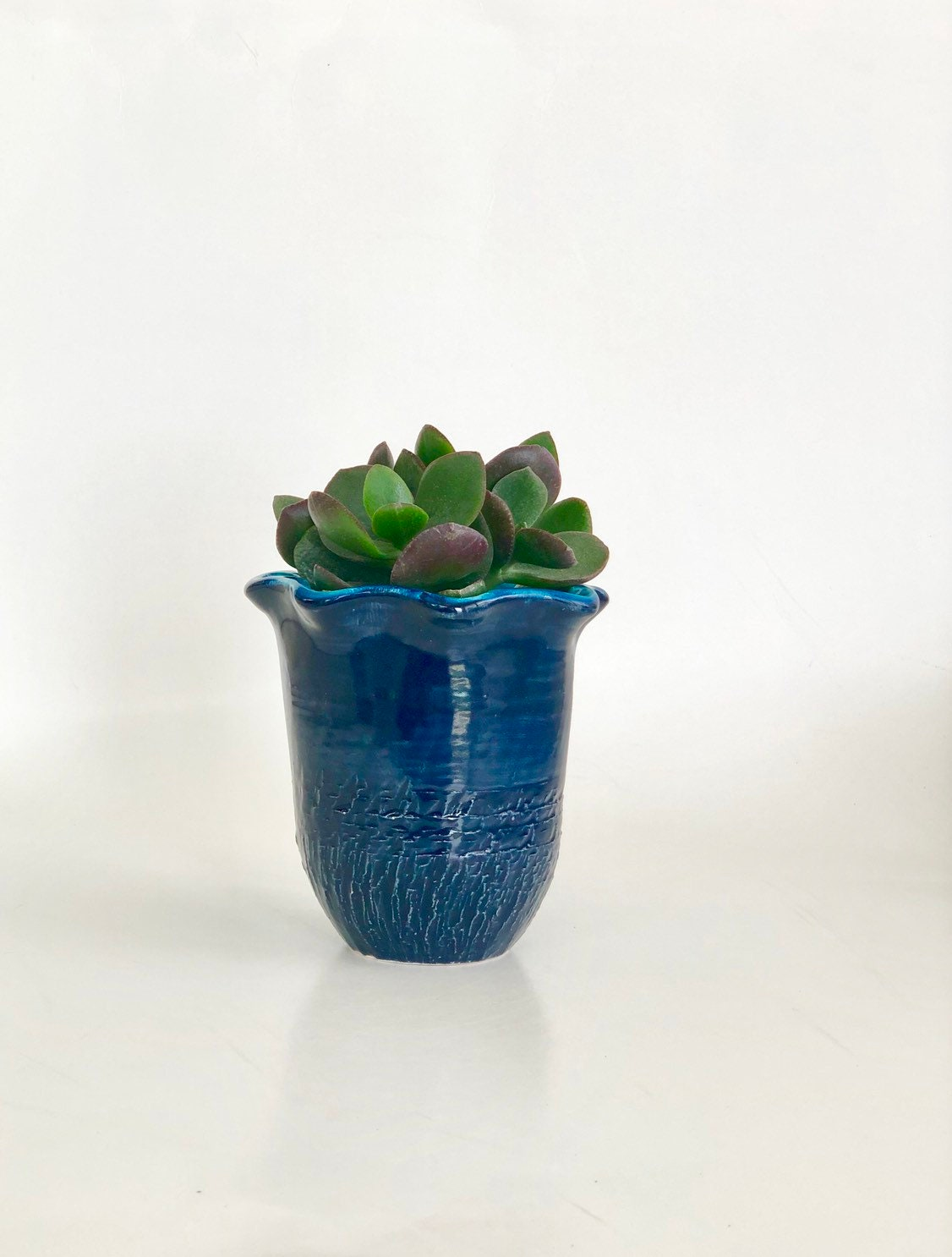 Small Ceramic Vase Blue Flower Vase Navy Pottery Vase Ceramic Flower Vase Bud Vase Flower Vases Ceramic Bud Vase Handmade Vase