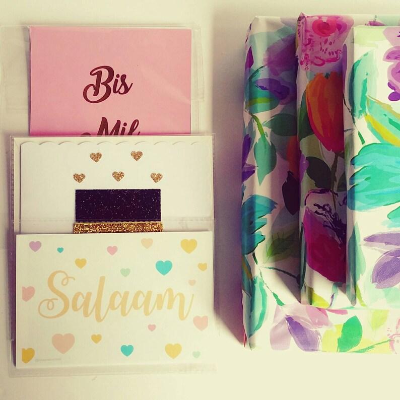Islamic Gifts Greeting Cards Umrah HandCrafted Hajj Keepsakes | Sentimental Unique