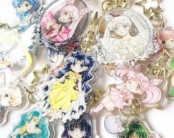 Sailor Scouts Keychain [Sailormoon]