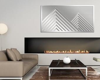 Original Laser Cut Metal Wall Art (Hills) - Signature Series