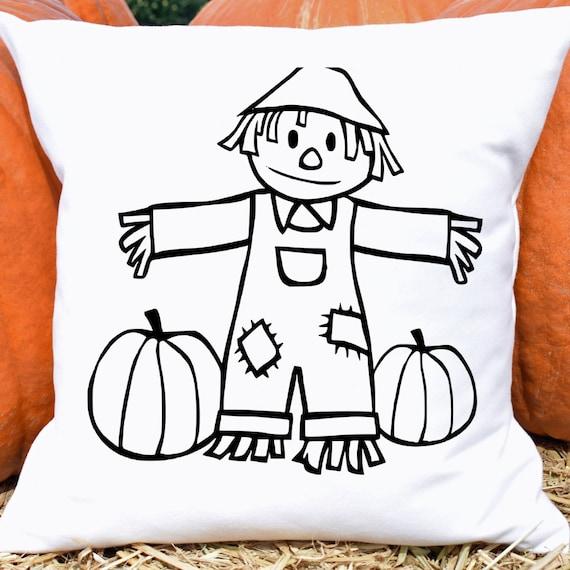 Scarecrow Svg Scarecrow Clipart Halloween Svg Halloween