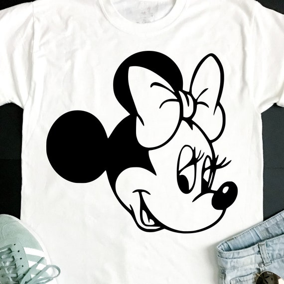 Minnie Mouse T Shirt Design | Minnie Svg Minnie Mouse Decal Disney Svg Disney Trip Etsy