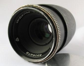 Lens INDUSTAR - 61 L/Z - MC  2.8/50mm # 8306273 Made in USSR 1983 M42 Russian Soviet