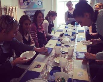 Annie Sloan Chalk Paint Workshop. Furniture painting tutorial