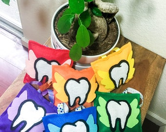 Tooth Fairy Pillow w/Pocket