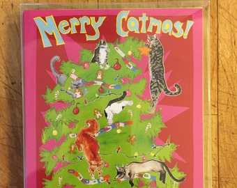 Merry Catmas Boxed Card Set