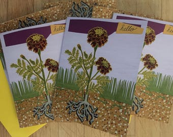Marigold Boxed Note Cards