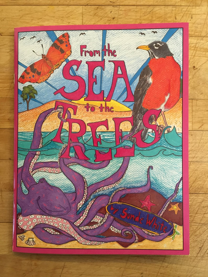 Coloring Book: From the Sea to the Trees image 1