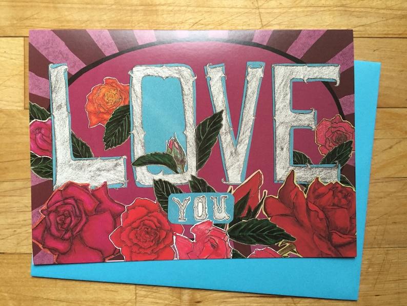 Love Valentines Card image 0