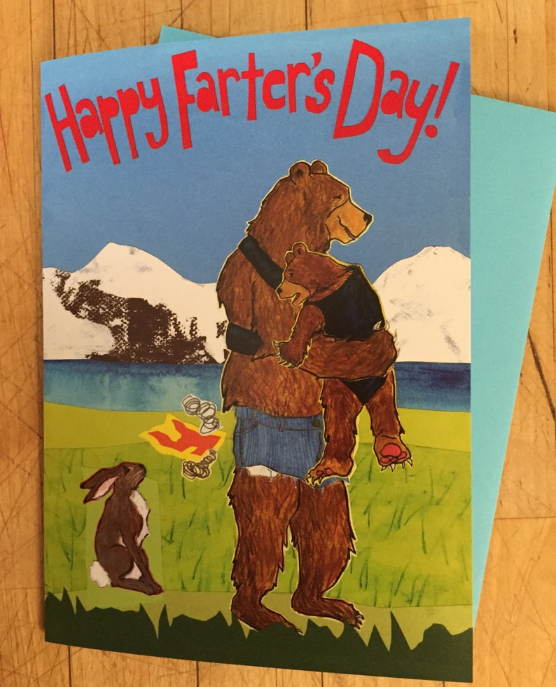 Farter's Day Father's Day Card image 1