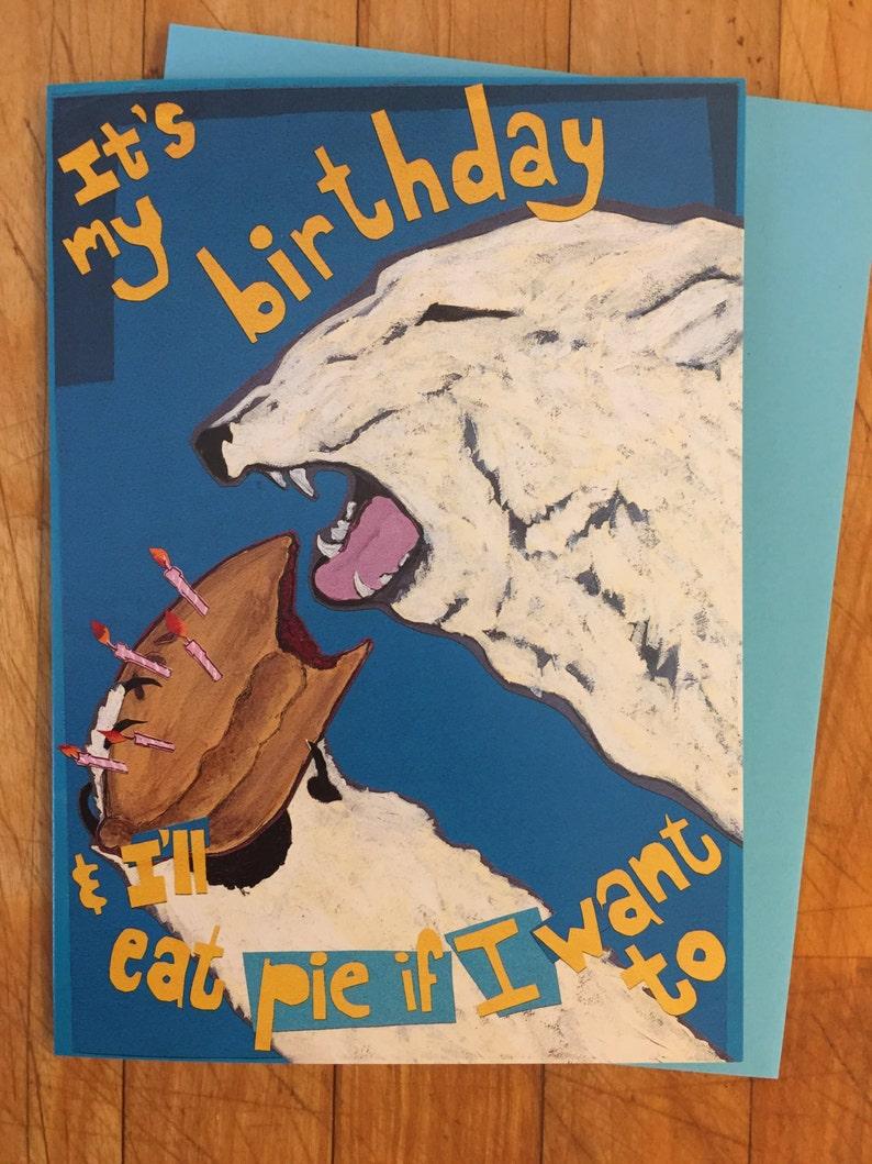 Polar Pie Birthday Card image 0