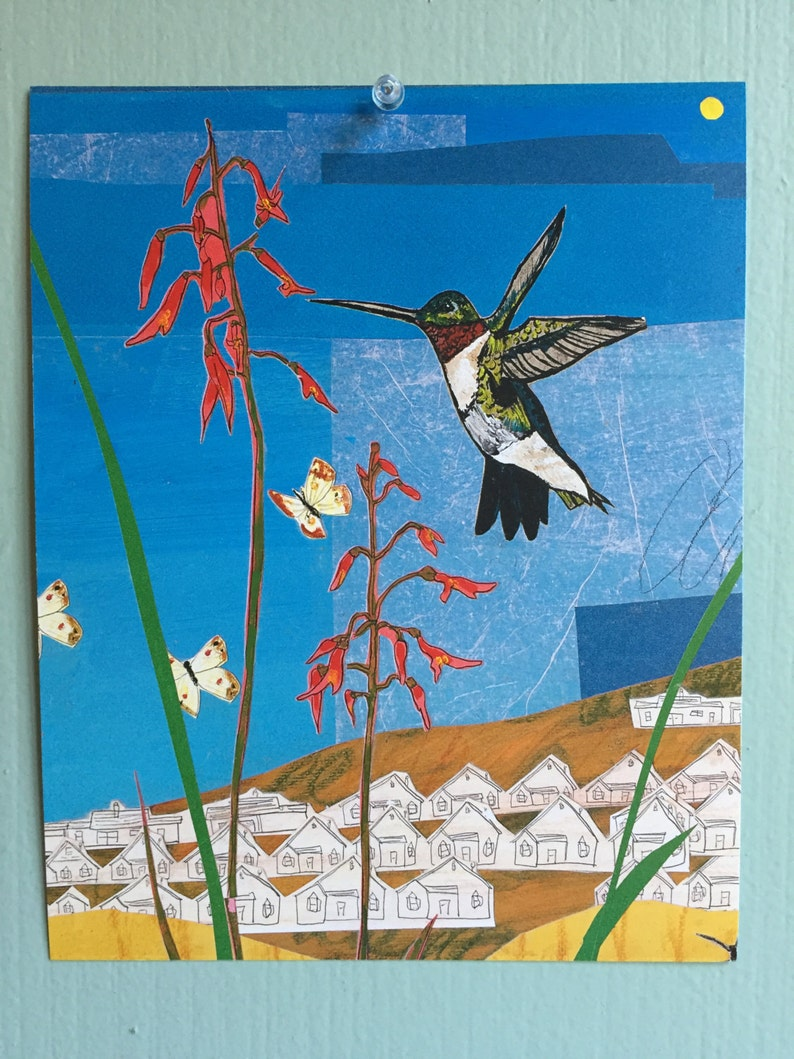 Hummingbird Art Print image 0