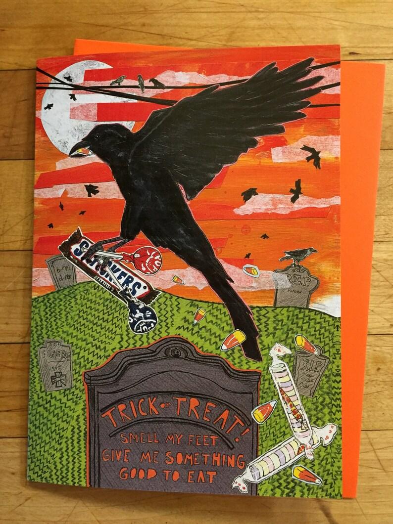 Halloween Greeting Card image 0