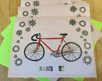Ride On Boxed Note Card Set