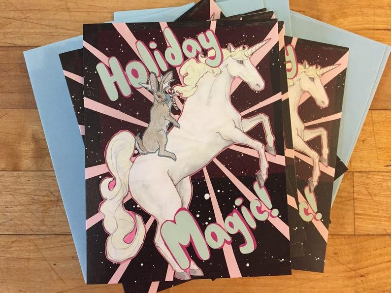 Magic Holiday Boxed Cards image 1