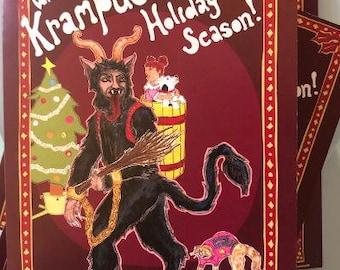 Krampus Boxed Cards