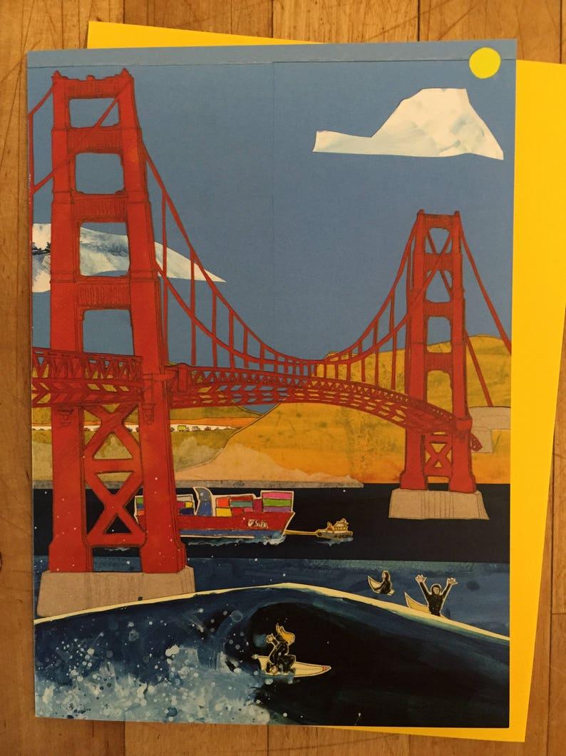 Golden Gate Bridge Card image 0