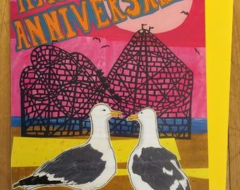 Seagull Happy Anniversary Card!