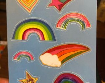 Rainbow Sticker Sheet!