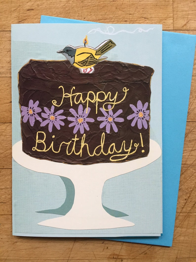 Birthday Cake Card image 1