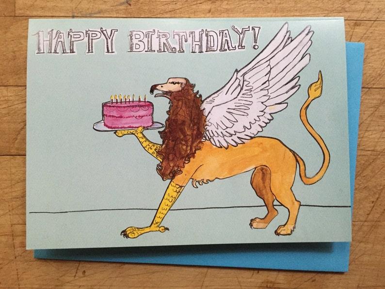Griffin Birthday Card image 0