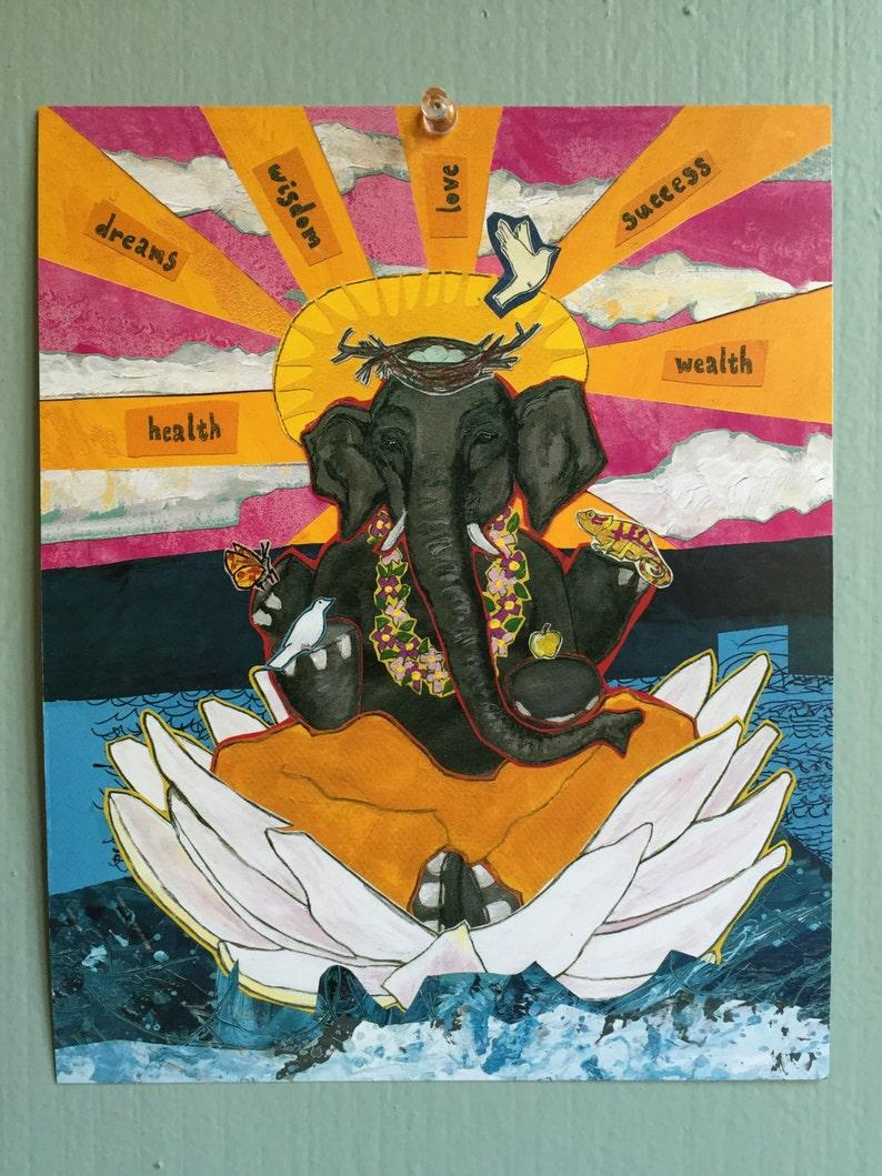 Ganesh Art Print image 0