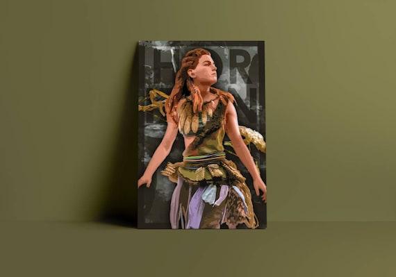 Horizon Zero Dawn Aloy Fan Art Poster