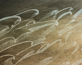 Waves Print
