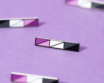 The Asexual Bar Enamel Pin