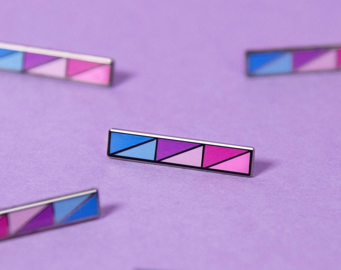 The Bisexual Bar Enamel Pin