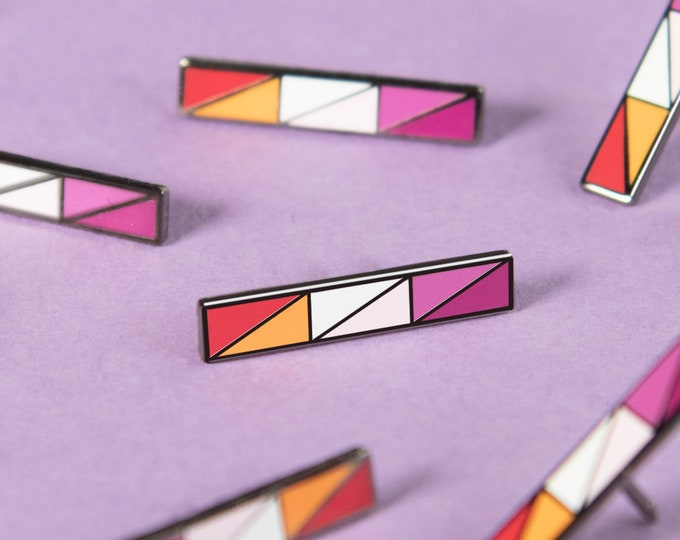 The Community Lesbian Bar Enamel Pin