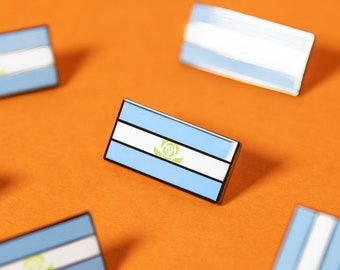 The Achillean Flag Enamel Pin