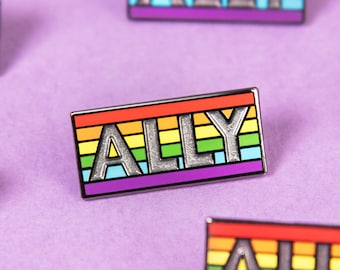 The ALLY Enamel Pin