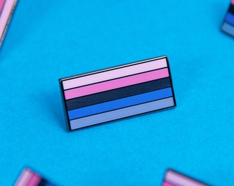 The Omnisexual Flag Enamel Pin
