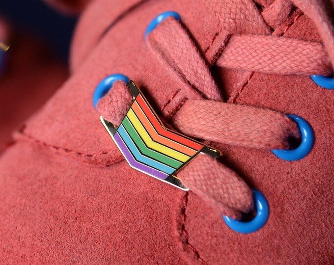 Featured listing image: The Rainbow Shoelace Locks