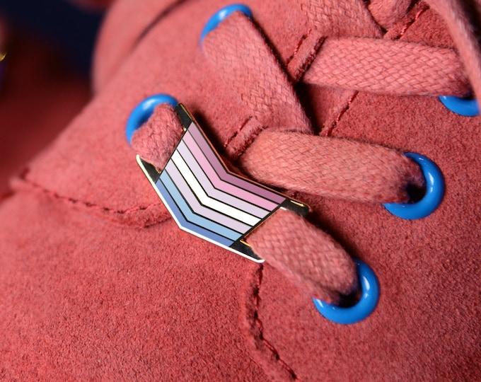 The Bigender Shoelace Locks
