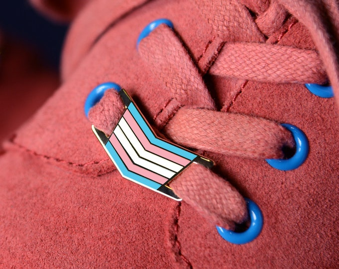 The Trans Shoelace Locks